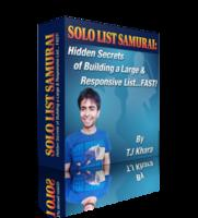 Solo List Samurai (WSO): Hidden Secrets of Building a Large & Responsive List...FAST!